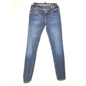 B28 MISS ME Size 27 Skinny Womens Jean Pants